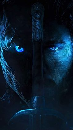 We've all finally gotten a bunch of awesome content to break down for the final season of Game of Thrones with the release of a few teasers and trailers for it now. I decided to make a poster of both the Night King and Jon Snow as they'll be Dessin Game Of Thrones, Arte Game Of Thrones, Game Of Thrones Tattoo, Game Of Thrones Wallpaper, Game Of Thrones Artwork, Game Of Thrones Poster, Game Of Thrones Images, Game Of Thrones Quotes, Game Of Thrones Funny