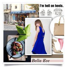 """Hell On Heels...Bella Eve"" by melissa-de-souza ❤ liked on Polyvore featuring La Vie en Rose, GUESS, Bare Escentuals, Georgini and BellaEveBoutique"