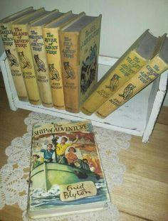 Enid Blytons Adventure complete series - treasured finds:-)