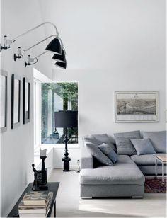 living grey sofa Luxurious interior design ideas perfect for your projects. #interiors #design #homedecor www.covetlounge.net