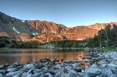 Sunrise at Timberline Lake Absaroka-Beartooth Wilderness Montana USA [OC] [4310x2868]