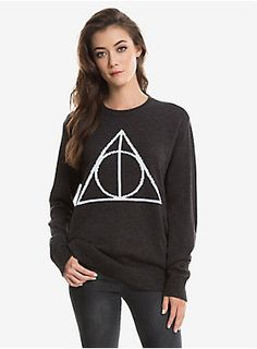 Together they make one master of warmth | Deathly Hallows Sweater
