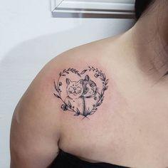 Gatinhos Feitos pela @maands_tattoos para orçamentos nos chame no whats 11 983331056
