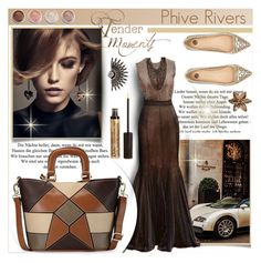 """Luxury by Phive Rivers"" by phiveriversuk ❤ liked on Polyvore featuring Givenchy, NYX, Viktoria Hayman, River Island and Terre Mère"