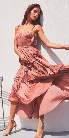 Trendy Suggestions: 18 Beach Wedding Guest Dresses ❤ beach wedding guest dresses fall mid length spaghetti straps red revolve ❤ Full gallery: https://weddingdressesguide.com/beach-wedding-guest-dresses/ #bride #wedding #beachwedding #weddingguestdresses