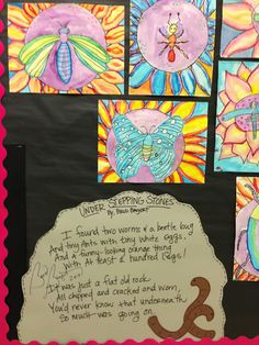 "Apex Elementary Art: ""under stepping stones"""