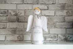 Check out this item in my Etsy shop https://www.etsy.com/listing/612668203/felt-angel-statue-stuffed-angel