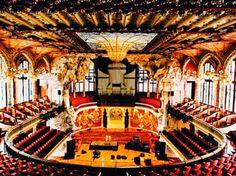 Palau de la Musica Catalana - Barcelona.