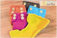 Ravelry: Worlds BEST Diaper Cover (Disposable & Cloth 5 sizes each) pattern by Boomer Beanies