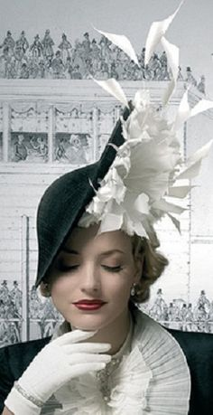 *Royal Ascot hat by Philip Treacy (2008)