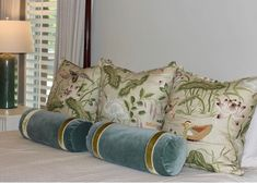 Pillow Design, Design Inspiration, Throw Pillows, Tape, Ribbon, Toss Pillows, Cushions, Band, Decorative Pillows