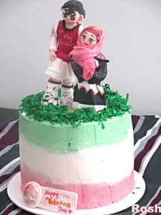 Muslim Hijabi girls birthday - I made this cake for a friend of mine ...