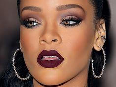 maquiagem rihanna makeup 1