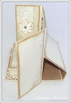 Mariannes papirverden.: Julekalender med tutorial hos Pion Design