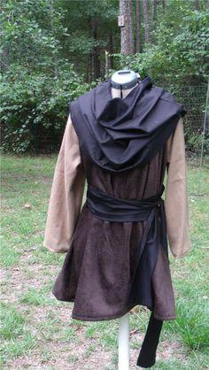 Renaissance Men's Tunic LARP SCA LG XLG Dr Brown | eBay