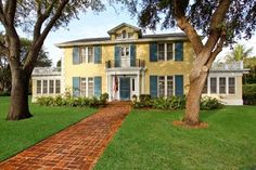 Colonial Revival ; Built by Clint Moore circa 1928, gorgeous. Delray Beach