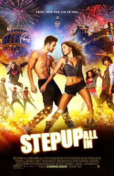 Dance to the beat! Perfect movie for this month's theme, DENIM MOVEMENT!  July 24, 2014 Thursday Screening Guaranteed Seating  Cinema 4 - STEP UP: ALL IN PG P180.00 - 12:00 2:15 4:30 6:45 9:00  *** Schedules may change without prior notice.  #denimmovement #denimstreetdance
