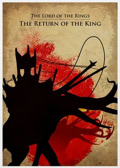 The Lord of the Rings Trilogy Poster Set 11X17.