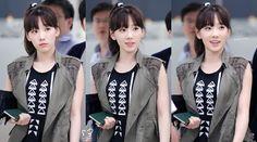SNSD Taeyeon airport 140630