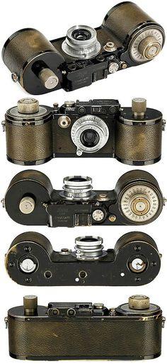 »Leica 250 Reporter FF«, 1934 ( vintage camera / film camera / antique )