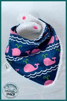 Oby's Handmade - Bavaglio a bandana - Laetzchen-Halstuch-Schal - Kids scarf bib