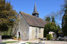 Eglise Saint-Germain te Saint-Germain-de-Pasquier (Eure 27)