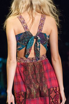 Anna Sui at New York Spring 2016 (Details)
