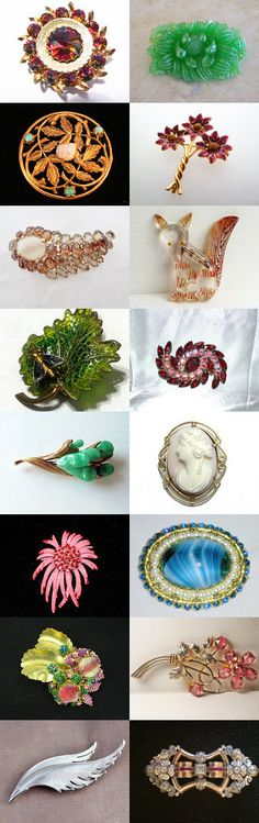 A Brooch for Every Occasion by moonbeam0923 on Etsy--Pinned+with+TreasuryPin.com