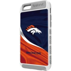 Denver Broncos Denver Broncos iPhone 6 Case | Skinit ($25) ❤ liked on Polyvore featuring women's fashion, accessories and tech accessories