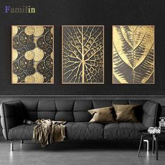 Fashion Square Burst Circle Canvas Painting Black And Gold Poster Print Luxurious Wall Art Pictures For Living Room Dining Room Gold Leaf Art, Gold Wall Art, Living Room Pictures, Wall Art Pictures, Abstract Wall Art, Canvas Wall Art, Circle Canvas, Kids Room Wall Art, Wall Art Sets