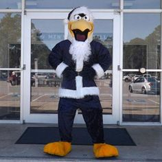 Santa GUS will be taking photos with fans starting at 6 p.m. in the Hanner Fieldhouse lobby prior to the Nov. 28th Men's Basketball SoCon opener vs. Elon!