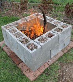 Als billige Feuerstelle im Garten