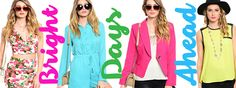BRIGHT DAYS AHEAD ♥ http://www.embelleboutique.com