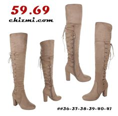 Super Me These classic overknee boots are made of high quality suede leather. Over The Knee Boots, Suede Leather, Classic, Shoes, Fashion, Moda, Zapatos, Shoes Outlet, Fashion Styles