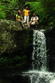Hiking Waterfall at Childs Park! Hike one of our 19 waterfalls in the Pocono Mountains! http://www.800poconos.com/things-to-do/outdoor-adventure/hiking/