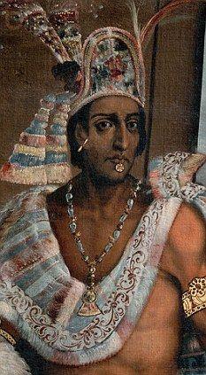 Montezuma II (Moctezuma II) the last Aztec Emperor Moctezuma Ii, Aztec History, Aztec Emperor, Charles Quint, Aztec Culture, Aztec Warrior, Mesoamerican, Colonial America, Mexico