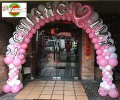 Balloon decorations for weddings, birthday parties, balloon sculptures in Kuching and Sibu, Sarawak