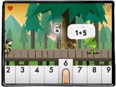 Number Run: Kids iPad Learning Apps Winter 2013