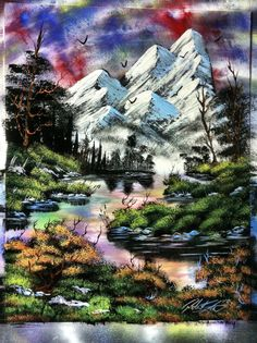 Beautiful Nature 14x18 inch spray painting by RS10SprayPaint, $100.00