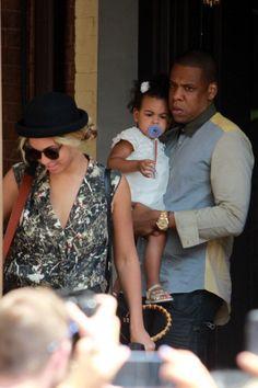 Jay-Z, Beyonce & Blue Ivy in Toronto