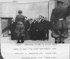 Siauliai, Lithuania, A group of Jews before being executed in the forests, 26-29/06/1941. This is their last moments of life.