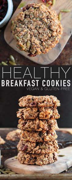 Start your morning off right with this vegan and gluten-free breakfast cookie. Filled with protein, healthy fats, and superfoods for a satisfying and wholesome meal.