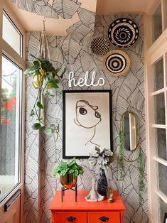 Quirky Boho Entrance Porch Makeover Reveal Quirky Boho Entrance Porch Makeover Reveal Get Decor Style Ideas For A Boho Interior Design Scheme With My Fun Colourful Quirky. Interior Ikea, Best Interior, Home Interior Design, Interior Design Wallpaper, Studio Interior, Cafe Interior, Interior Paint, Luxury Interior, Ceiling Decor