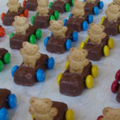 Milky way or snicker with teddy Graham's and m&ms;!!