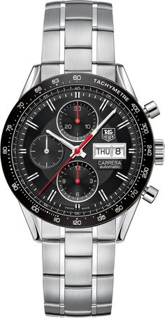 TAG Heuer Watch Carrera Day Date Calibre 16 #bezel-fixed #bracelet-strap-steel #brand-tag-heuer #case-material-steel #case-width-41mm #chronograph-yes #date-yes #day-yes #delivery-timescale-call-us #dial-colour-black #gender-mens #luxury #movement-automatic #official-stockist-for-tag-heuer-watches #packaging-tag-heuer-watch-packaging #style-sports #subcat-carrera #supplier-model-no-cv201ah-ba0725 #warranty-tag-heuer-official-2-year-guarantee #water-resistant-100m