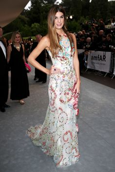 Bianca Brandolini in Giambattista Valli | Best Dressed: AmfAR's 21st Cinema Against AIDS Gala