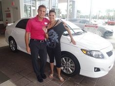 Congratulations to Virgen! Enjoy your pretty, new Toyota and welcome to the David Maus Toyota Family! #DavidMausToyota #WhateverItTakes #Toyota