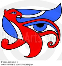Eye of Horus > Vector DOWNLOAD >> http://harboarts.com/artwork/eye-of-horus-egyptian-symbol-vector-graphics_template_1407772989349F3B/  The Eye of Ra / #Wadjet, #Wedjat, #Udjat #Uadjet #Wedjoyet #Edjo #Uto #EyeofRa #EyeOfHorus #Egyptian