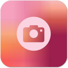 Peach iPhone Camera App icon Flat Design, App Design, Icon Design, Launcher Icon, Android Icons, Ios Icon, New Business Ideas, Simple Pictures, Iphone Camera