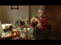 ▶ Hea: Skiep yn it Lyts - YouTube///titia van der goot///wait through this short video to see her flock on felted sheep..impressive .